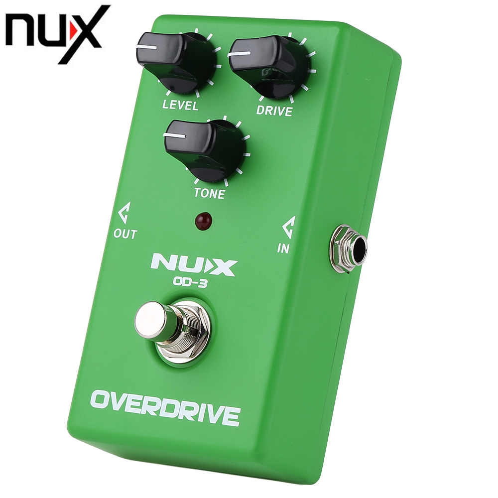 buy nux od 3 overdrive electric guitar effect pedal true bypass warm tube. Black Bedroom Furniture Sets. Home Design Ideas