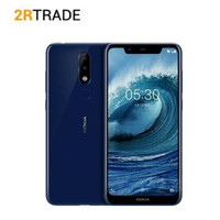 Nokia X5 4G 64G Android 8.1 3 Camera Dual Sim Android Fingerprint 5.86 Inch Octa Core LTE 4G 3060mAh Mobile Phone