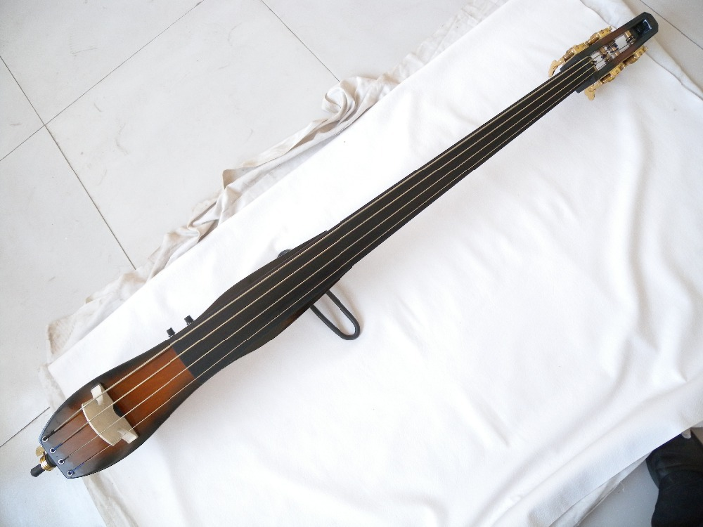 one  right  hand   4 string  black 3/4 new    Electric Upright Double Bass new 12202# hellboy giant right hand anung un rama right hand of doom arms hellboy animated cosplay weapon resin collectible model toy w257