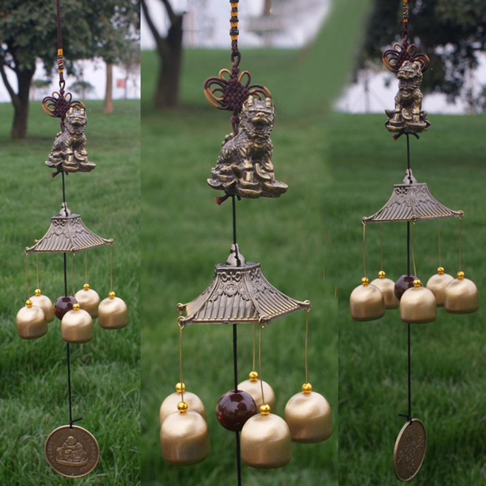 Wind Chimes With Bell Hanging Home Decoration Outdoor Yard Living ...