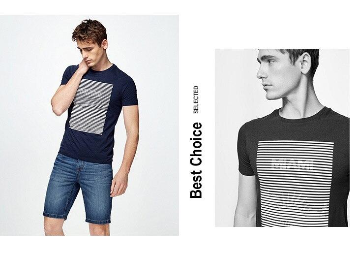 HTB1wyNdAVOWBuNjy0Fiq6xFxVXar - SELECTED  cotton round collar short-sleeved T-shirt C|4182T4593