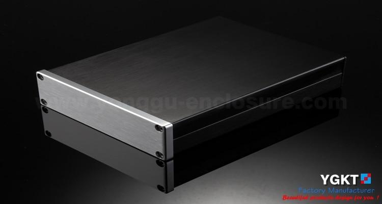 114*33-150mm(WxHxL) Best Price Anodizing Aluminum Extruded Enclosure / fiberglass electrical enclosures