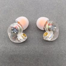 Tiandirenhe th20 in-ear fone de ouvido 10mm unidades dinâmicas correndo esporte fone de ouvido mmcx cabo para shure se215 se535 se846 ue900 fone de ouvido