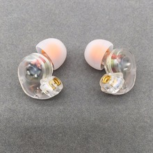 Tiandirenhe th20 in ear fone de ouvido 10mm unidades dinâmicas correndo esporte fone de ouvido mmcx cabo para shure se215 se535 se846 ue900 fone de ouvido