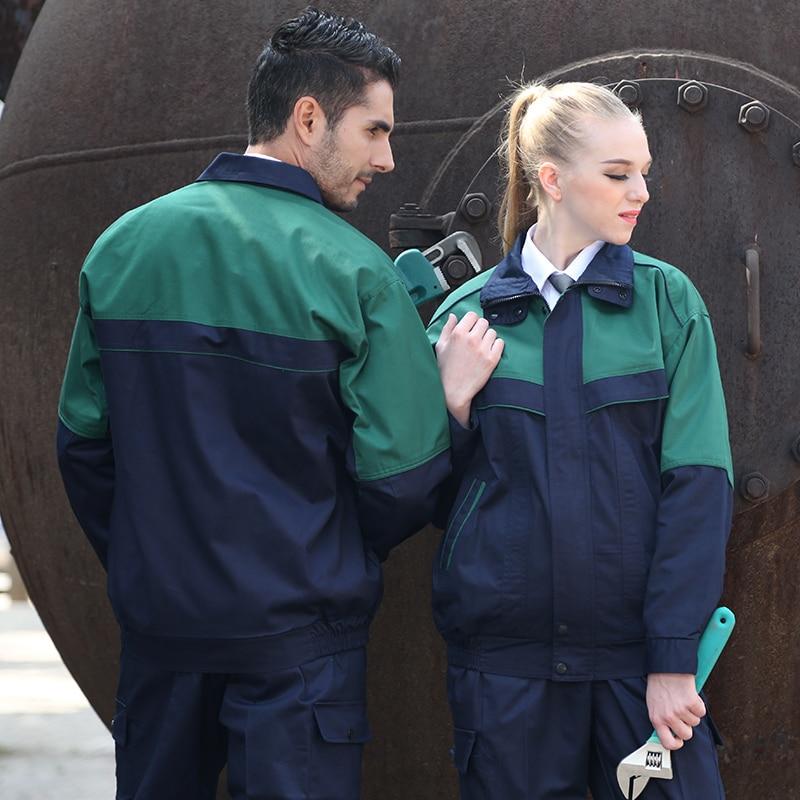купить FASHION cotton work uniform welding uniform auto repair clothing car service coat electrician uniform по цене 6044.98 рублей