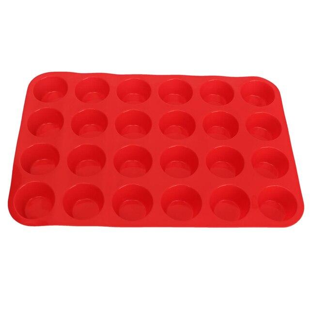 aliexpress: acheter 24 cavité moule À cake mini muffin tasse