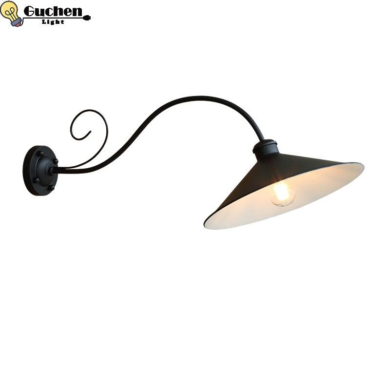 Наружное освещение, водонепроницаемая настенная лампа, Скандинавский дизайн, винтажная домашняя вилла/веранда для сада/двора, декоративны