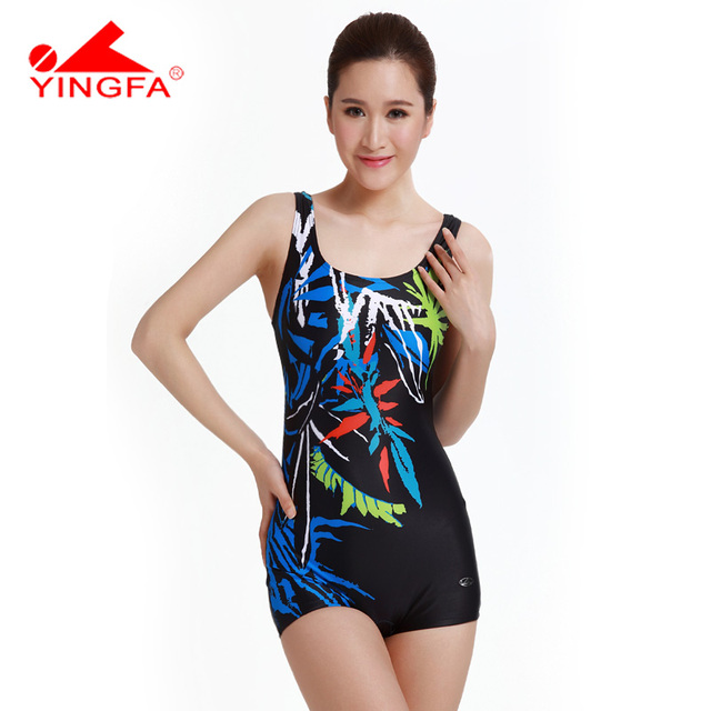 One-piece Swimsuit With Short Swimwear