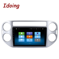 Idoing 1Din 9inch Android6 0 Car Multimedia Player For VW Tiguan 2010 2015 Octa Core Fast