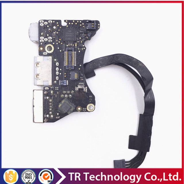"wholesale Power Board Magsafe I/O Audio USB Board DC Jack Sound Board for MacBook Air 11"" Mid 2010 A1370 mc505 mc506 820-2827-B"