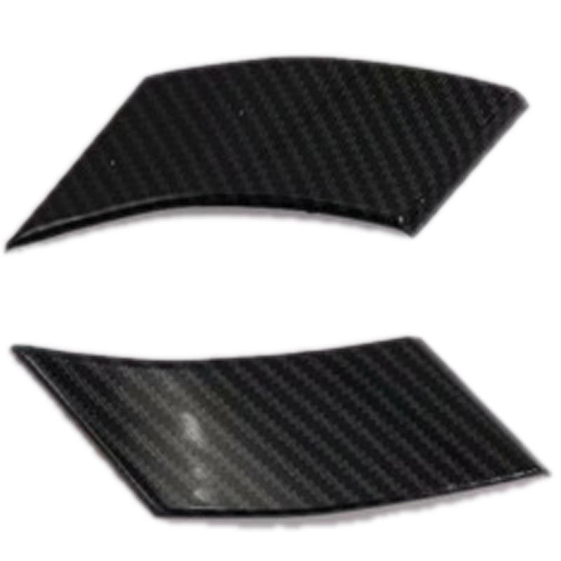 For Toyota Rav4 Hybrid (Xa50) 2019 2020 Carbon Fiber Style Bracket a Pillar Window Cover Trim