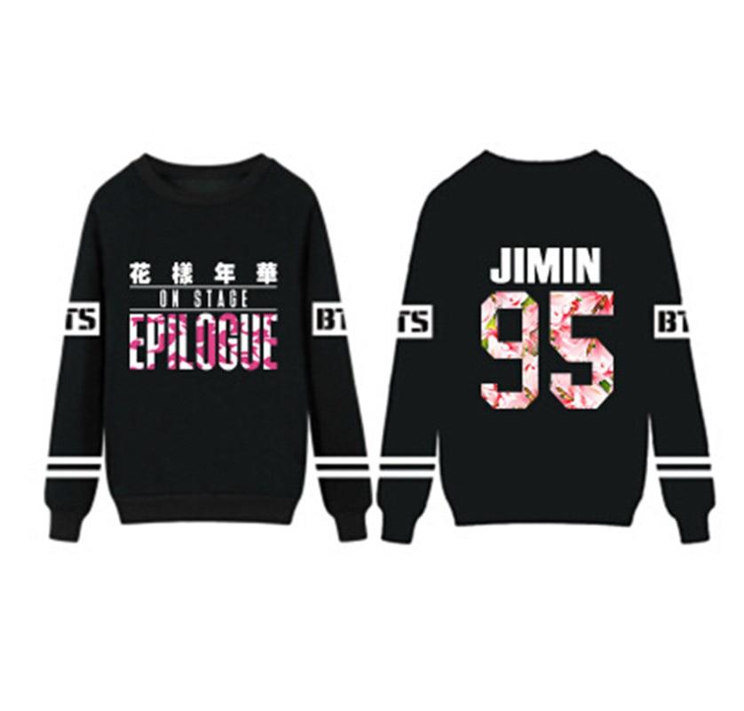 kpop Ulzzang BTS Seoul Concert Sweater Bangtan Boys hoddies Rap Monster Jung Kook V k-pop Bulletproof teenager Sweatshirt shirts