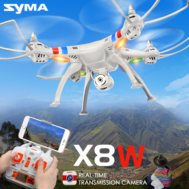 7.4V 2000mAh RC Quadcopter SYMA X8W RC Drone with 2MP HD Camera Wi-fi FPV Real Time 2.4G 4CH Remote Control Helicopter syma rc quadcopter drone x5sw x5hw wifi fpv hd camera real time transmission 4ch 2 4g remote control helicopter rc drones toy