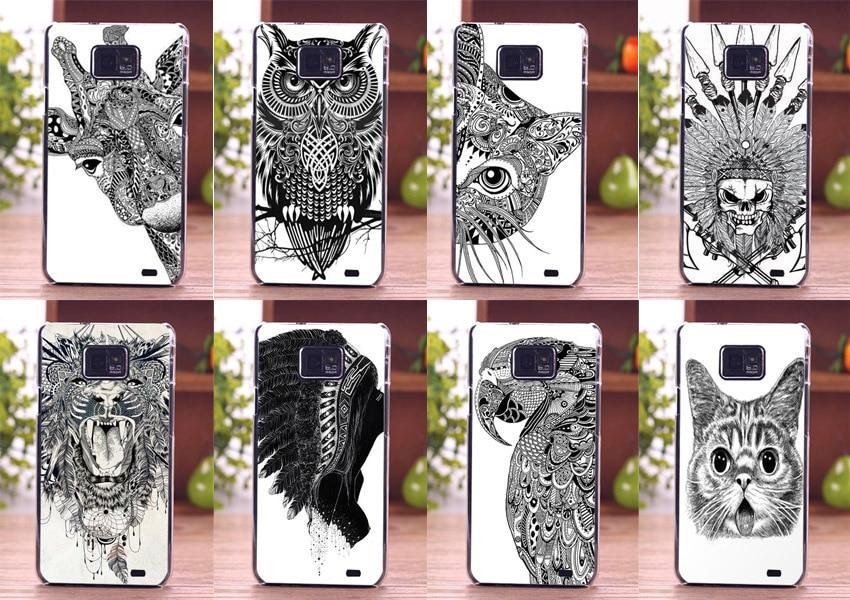 Cute Animal Design Cell Phone Skin Diy Pattern Phone Case