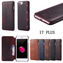 For iPhone X XS High Quality Flip Cover Case Magnetic Leather Holster 8 6 6S 7 Plus Phone Shell Capa