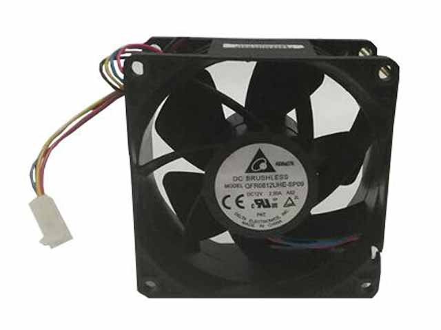 Delta Electronics QFR0812UHE-SP09 A52 Server Square Fan DC 12V 2.50A 80x80x38mm 4-wire