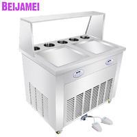 BEIJAMEI Commercial fry yogurt making, Electric Thai ice cream machine, multifunctional ice cream roll maker