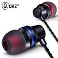 Qkz dm1 clear bass auriculares con micrófono en la oreja los auriculares auriculares edición especial 3 colores audifonos fone de ouvido auriculares