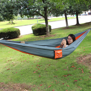 Image 2 - VILEAD 自動展開ハンモック蚊安定した超軽量ポータブルハイキング狩猟キャンプベビーベッド睡眠ベッド 290*140 センチメートル