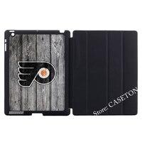 Philadelphia Flyers Hockey League Intelligente Abdeckung Fall Für Apple iPad Mini 1 2 3 4 Air Pro 9,7