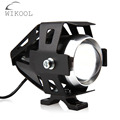 1 Piece 125W 3000LM CREE LED U5 Motor Driving Fog Spotlight  for Yamaha Honda Motor Scooter Motorcycle Work Light