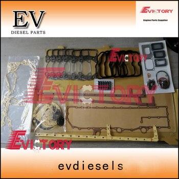 Para Mitsubishi S6A2 kit de junta de motor completo|Pistones, anillos, varillas y piezas| |  -
