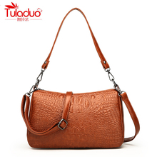 hot deal buy high quality pu leather women shoulder bags fashion alligator pillow handbags for women crossbody bags ladies messenger bags new