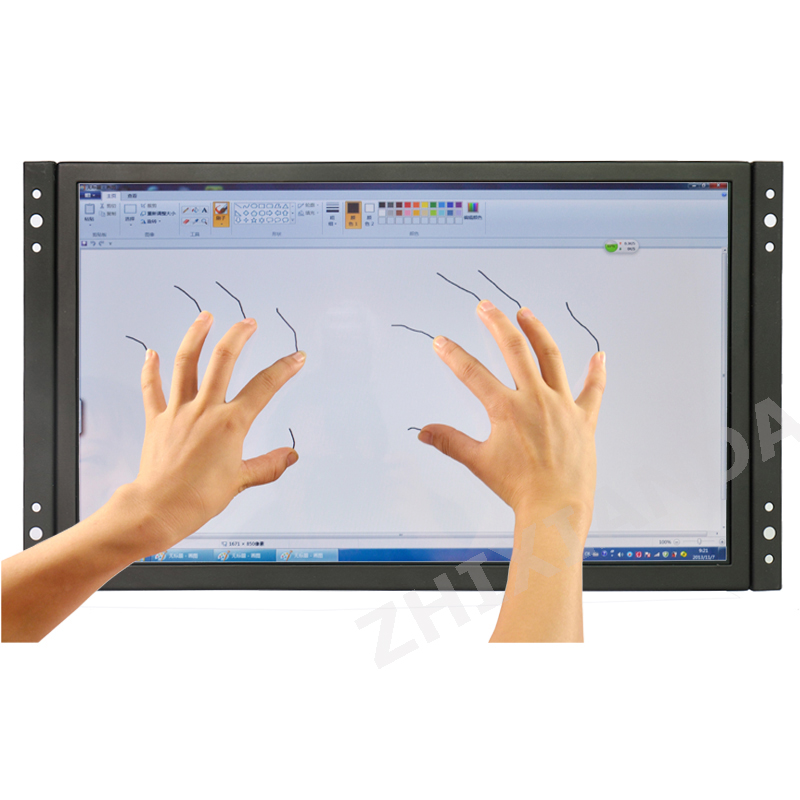 ZHIXIANDA GC1116 11.6 Inch High Resolution 1920*1080 Open Frame Capacitive Touch Monitor With VGA/HDMI/USB Sperkers ZHIXIANDA GC1116 11.6 Inch High Resolution 1920*1080 Open Frame Capacitive Touch Monitor With VGA/HDMI/USB Sperkers