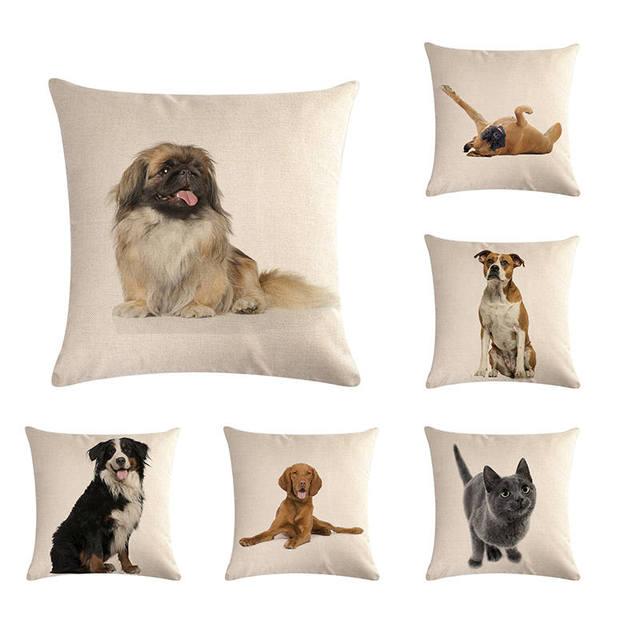 Cane di animale domestico Del gatto Persiano in Cotone E Lino Animale Coperte e