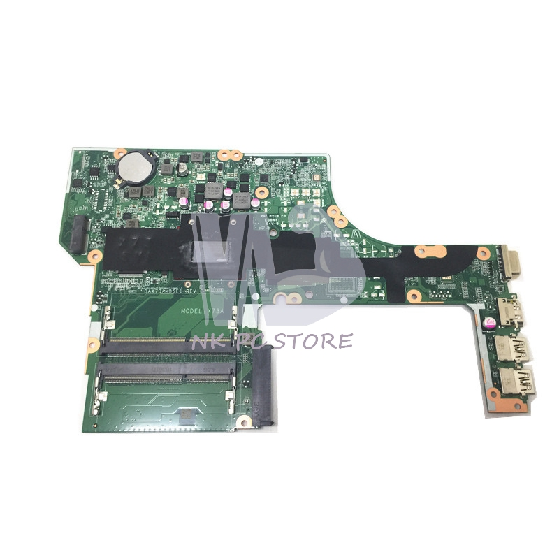 Main Board For Hp probook 455 G3 Laptop Motherboard DAX73AMB6E1 DDR3 A10-8700P CPU Full tested 815248 501 main board for hp 15 ac 15 ac505tu sr29h laptop motherboard abq52 la c811p uma celeron n3050 cpu 1 6 ghz ddr3