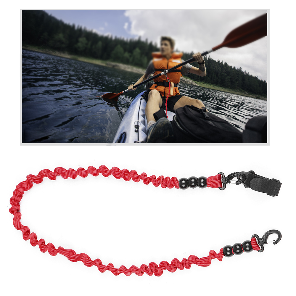 Safety Rope Special Kayak Canoe Paddle Leash Fishing Rod For Surfing Rowing Boat