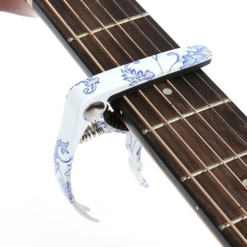 buy acoustic electric guitar capo tuner string pin puller full metal plated. Black Bedroom Furniture Sets. Home Design Ideas