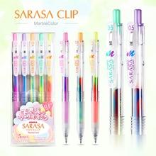 1pc Japan Zebra Three-color Gradient Gel Pen JJ75 Color Mark