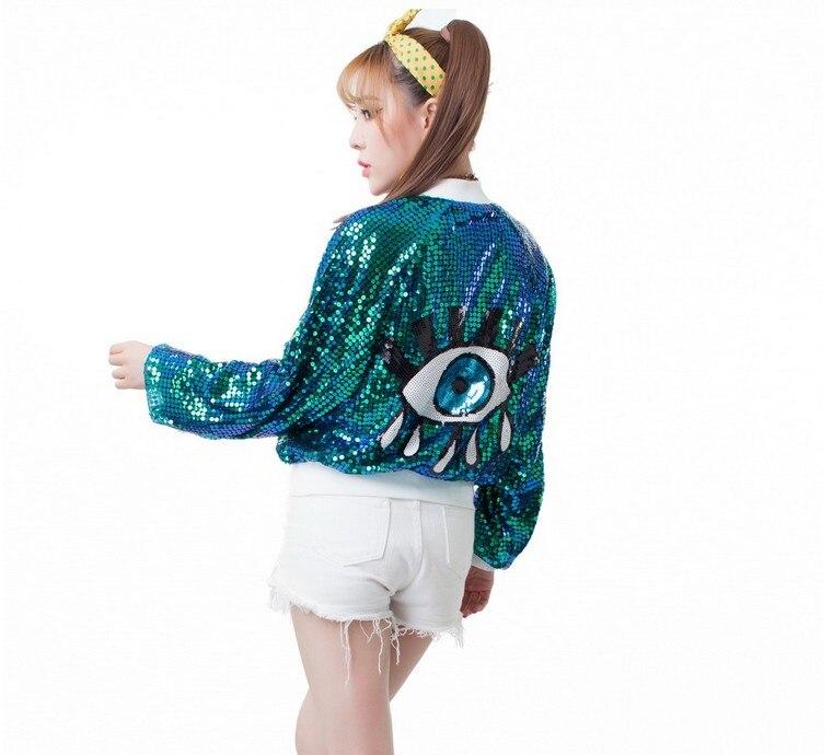 Fantástico Europa Fashion Girls  Personalizada Bomber Jacket Coats Mujeres de Le