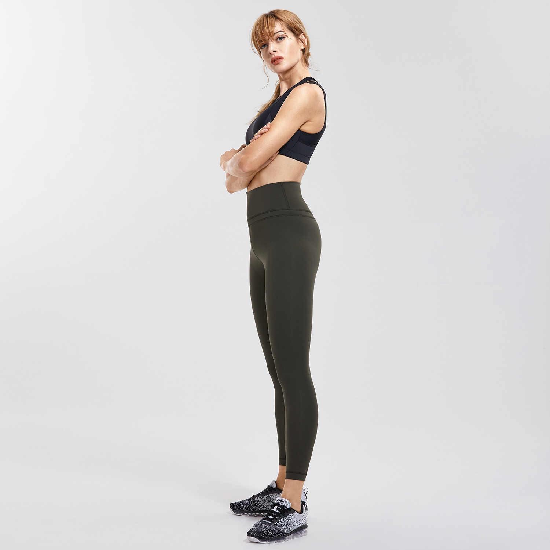 b5f2c3697988db ... CRZ YOGA Women's Hugged Feeling High Waist Yoga Pants Training Leggings  With Pocket ...