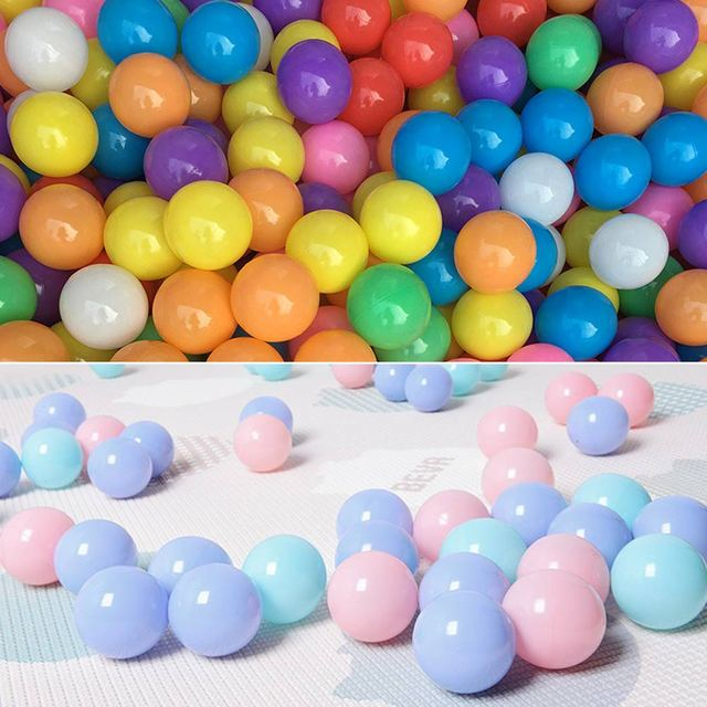 100pcs/lot Eco-Friendly Colorful Plastic Ball Water Pool Ocean Wave Ball Toys Stress Air Ball Outdoor Sports Toys for Children 3