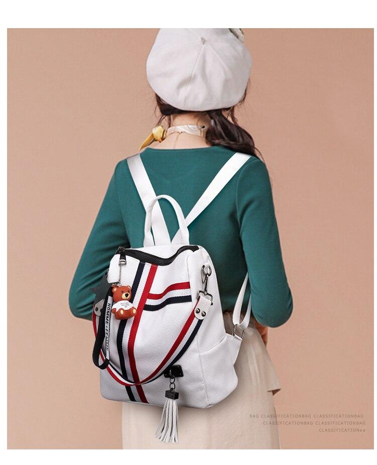 2018 New Retro Fashion Ladies Backpack-0008