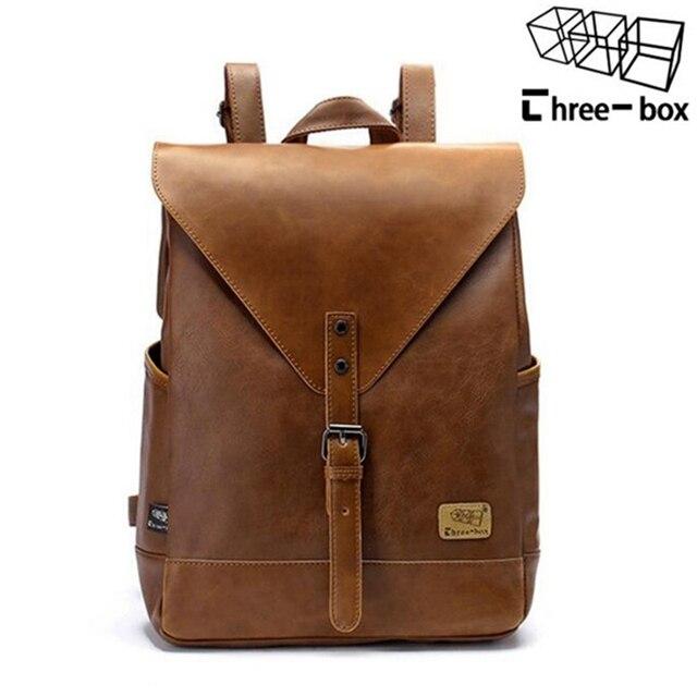 2017 Hot! женская мода рюкзак мужской путешествия рюкзак mochilas школа мужские кожаные бизнес-мешок большой ноутбук сумка для покупок