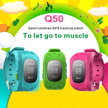Newest Q50 Kids Smart Wristwatch Kid Safe GPS Track Smart Watch SOS Call Location Finder Locator Tracker Baby Anti Lost Monitor 4