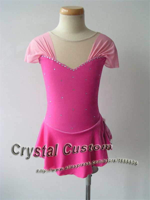 Custom Ice Figure Skating Dresses For Adult New Brand Vogue Figure Skating Competition Dress For Women DR2520