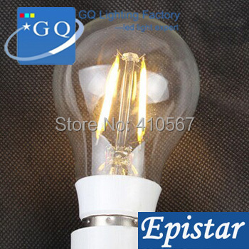 CP free ship 2W 4W E27 LED Bulb Light LED Filament tungsten lamp lighting for crystal lamp 85-265V 110V 220V