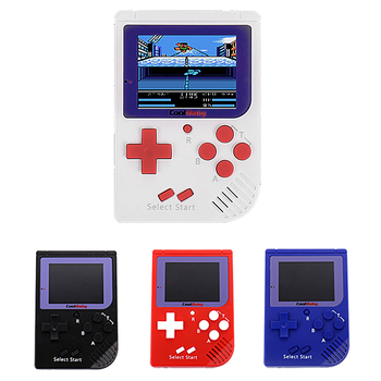 Game Console Mini CoolBaby Handheld Game Player Built-in 129 Classic Retro Games Video Game Console For Kids Children