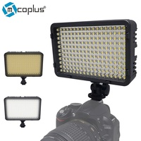 Mcoplus 198 Bi Color 3200K/7500K LED Video Light Kit for DV Camcorder & Canon,Nikon,Pentax,for Olympus Digital SLR Camera