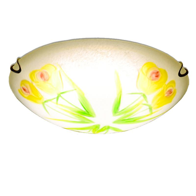 Pastoral Tulips Bedroom Ceiling Light Classic Washroom Ceiling Lamps Kitchen Balcony Ceiling Lights Fixtures шпатель tulips tools im07 156