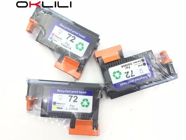 C9380A C9383A C9384A cabeça de Impressão Da Cabeça De Impressão para HP DesignJet 72 T1100 T1120 T1120ps T2300 T610 T770 T790 T1200 T1300 T1300ps T795