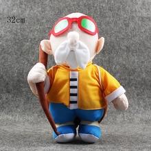 28-37cm 5 styles Dragon Ball Z Plush Son Goku Majin Buu Master Roshi Crane Hermit Chiao-tzu Oolong Plush toys Doll Kids
