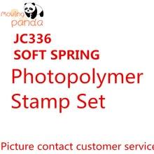 JC336 SOFT SPRING Metal Cutting Dies For Scrapbooking Practice Hands-on DIY Album Card Craft