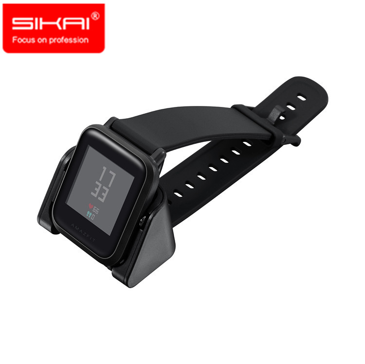 SIKAI 1M USB Charging Watch Dock Cradle Charger for Xiaomi Huami Amazfit Bip BIT PACE Lite Youth Smart Charger A1608 Edition | Watch Batteries