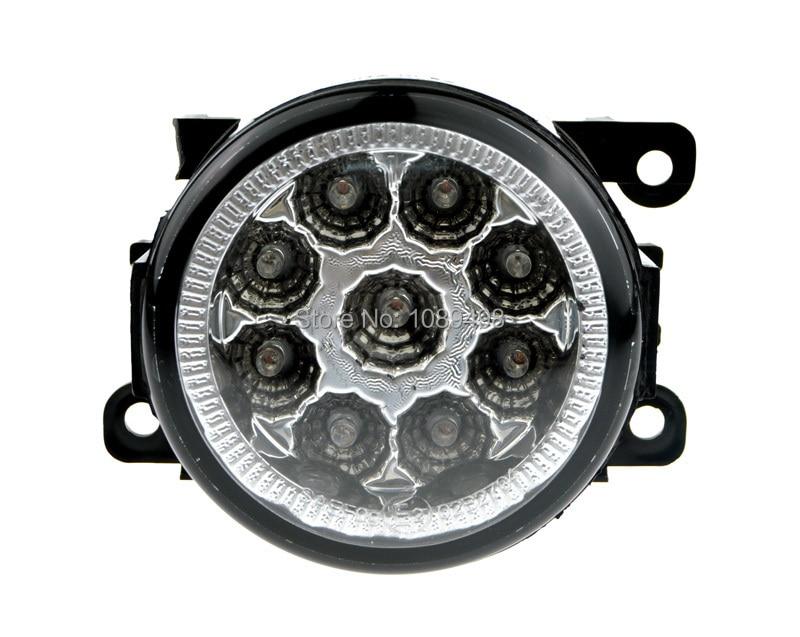 2 шт./пара передние светодиодные DRL противотуманные фары лампы подходят для Фокус 2 3 Фиеста 2007-2014/Пежо/Шевроле/ Свифт/модели/Рено