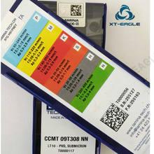 CCMT09T304 LT10 CCMT09T308 NN NN LT10 Frete grátis! 100% Original marca CNC lâmina